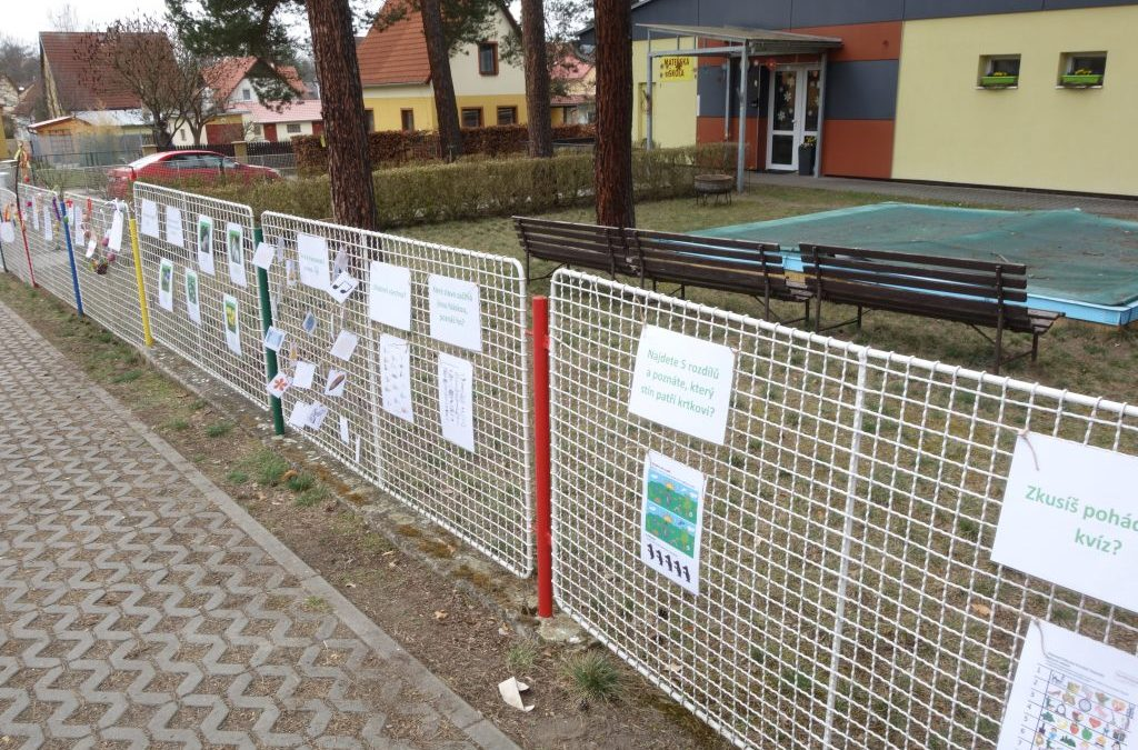 Zábavné úkoly na plotě
