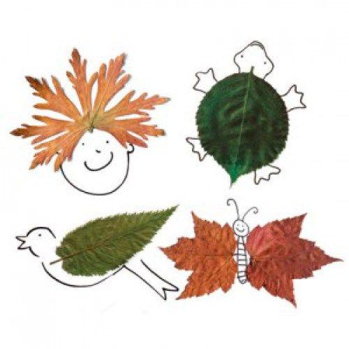 Podzimní tvoření z listí